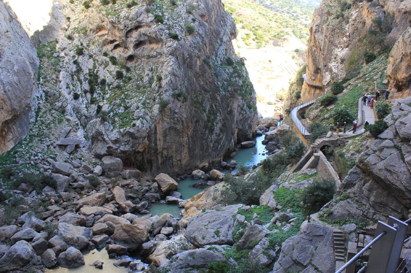 Path in Gaitanejo Gorge ©Kevin George Monterrubio