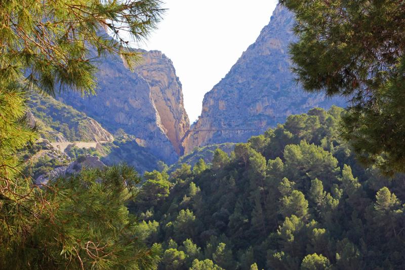 View from Valle del Hoyo looking out to Balconcillo de los Gaitanes ©Kevin George Monterrubio