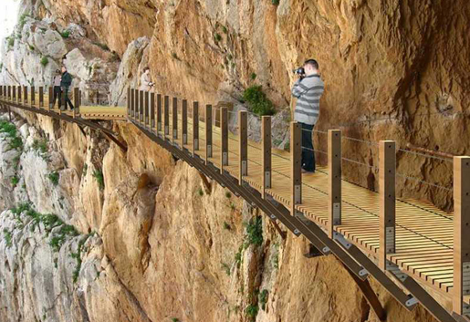 The thrilling Caminito del Rey