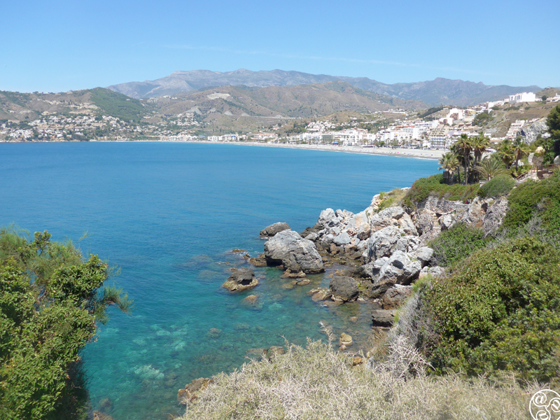 Looking across the bay to La Herradurra Beach, Granada Province ©Michelle Chaplow