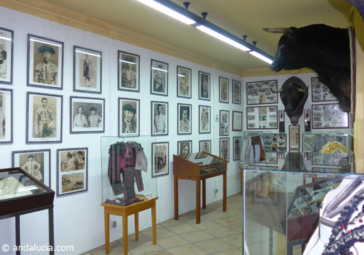 Estepona bullfighting museum, located inside the bullring. © Michelle Chaplow .