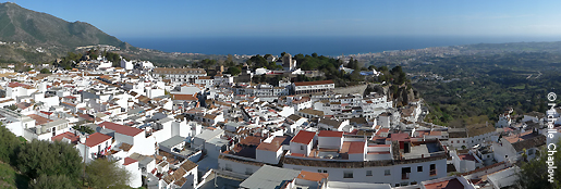 The quaint town of Mijas. © Michelle Chaplow .