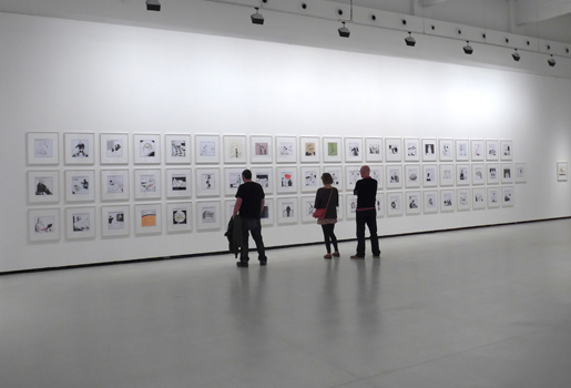 Contemporary art at the CAC Malaga. © Michelle Chaplow