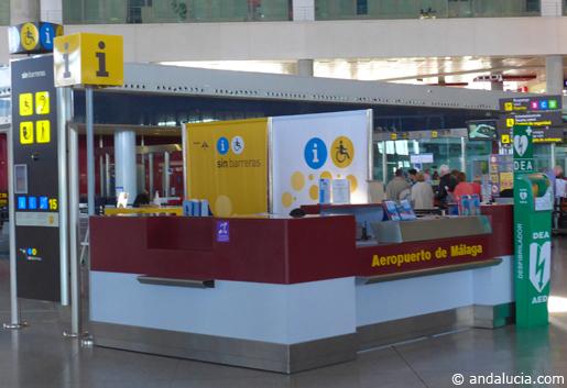 Malaga airport meets EU accessibility standards. © andalucia.com