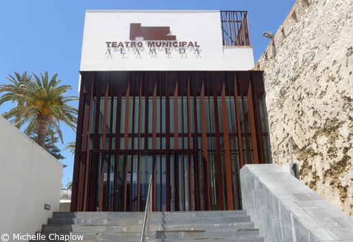 Municipal Theatre in Tarifa. © Michelle Chaplow