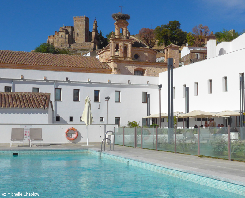 Hotel Convento Aracena. A historic hotel with contemporary architecture and style ©Michelle Chaplow