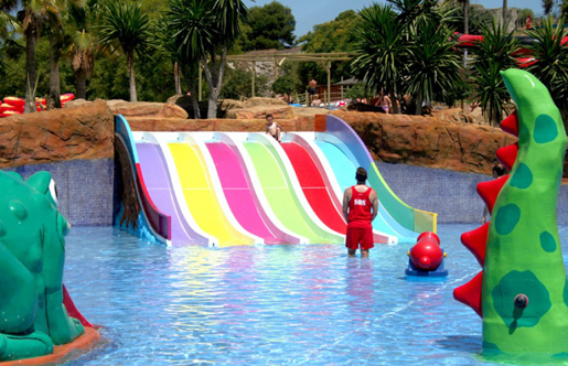 Aqualand Bahia de Cadiz is great for a family day out. © Aqualand, Bahia de Cadiz