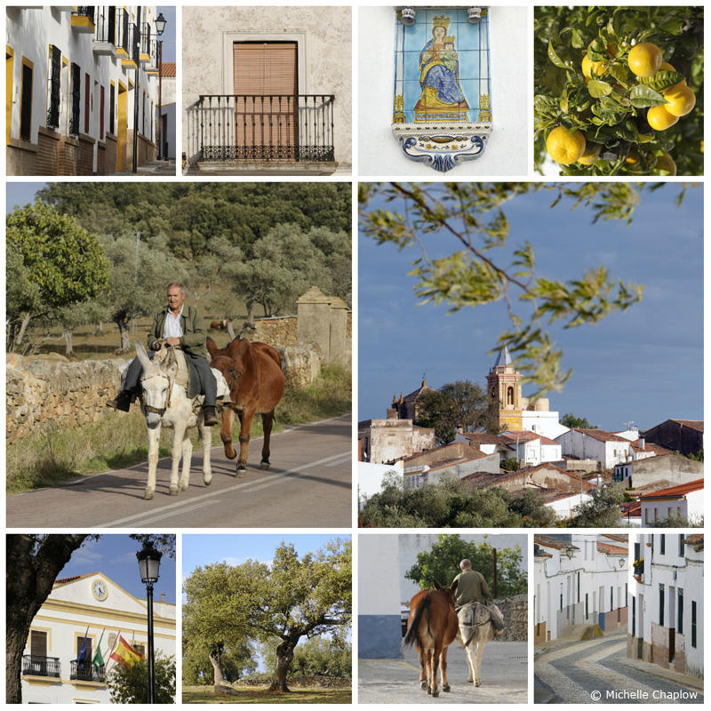 Cumbres de San Bartolomé rural scenes and quaint streets with Portuguese Cobblestones. ©Michelle Chaplow