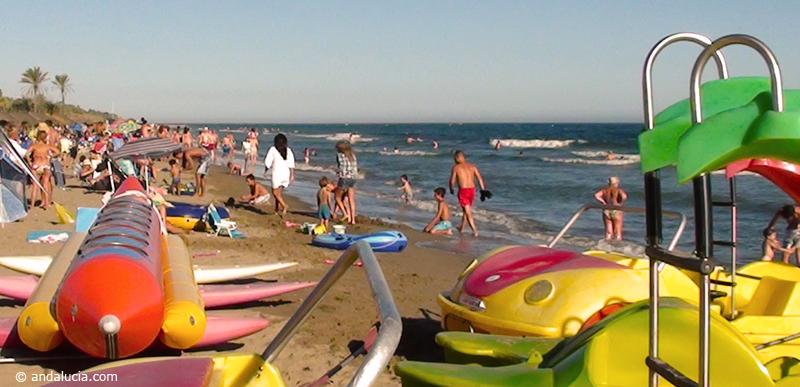 Playa Real de Zaragosa © Michelle Chaplow .
