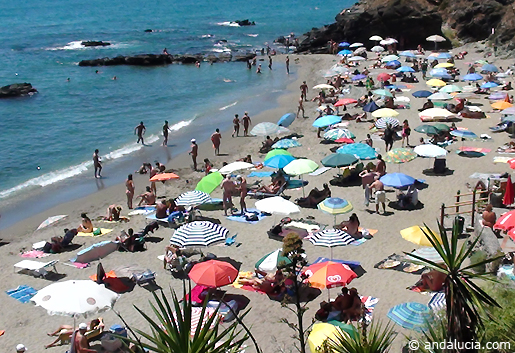Benalnatura beach in Benalmadena. © andalucia.com