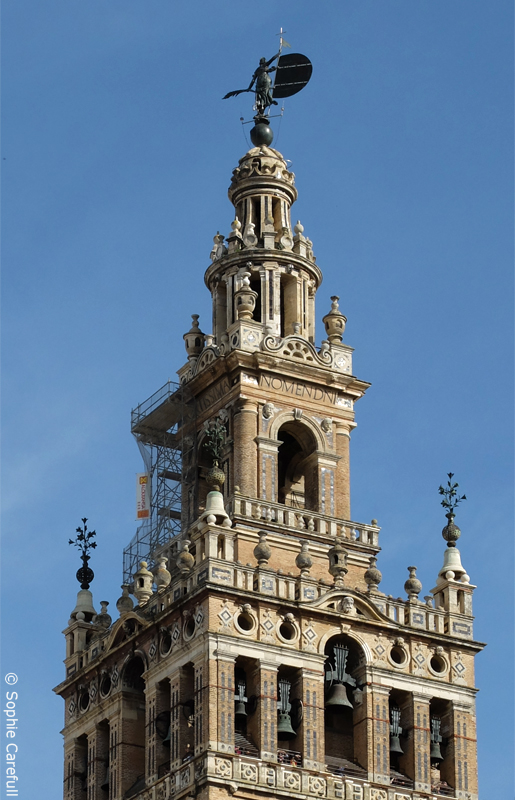 A shining example of Almohad architecture; Seville's magnificent Giralda. © Sophie Carefull