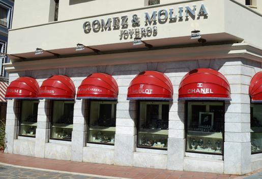Gomez & Molina jewellers. © Sophie Carefull