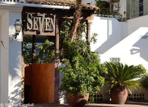 Seven Bar and Club, Puerto Banus. © Sophie Carefull