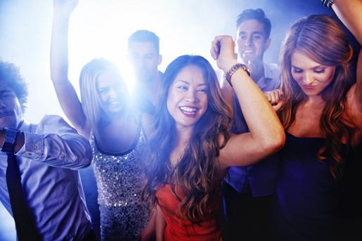 Euphoria on the dancefloor ©istockphoto.