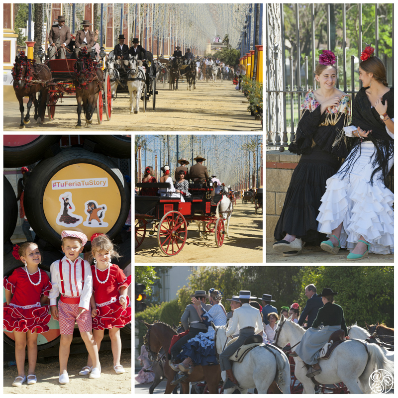 The Feria de Jerez has its own special equine flavour ©Michelle Chaplow