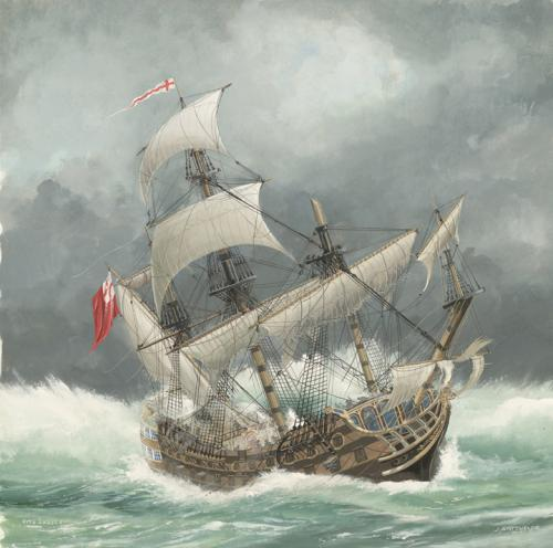 HMS Sussex 1694 | Shipwreck found off Gibraltar by Oydessy