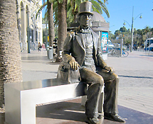 Writer who enjoyed his stay in Malaga in October 1862