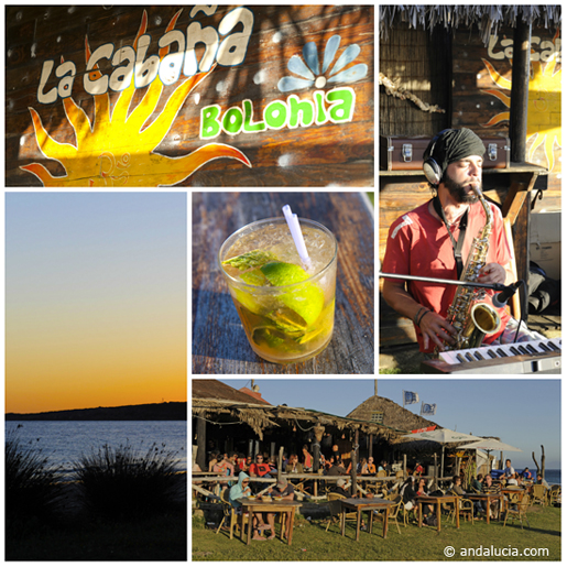 © Michelle Chaplow - Beach bar bliss at La Cabaña, Bolonia