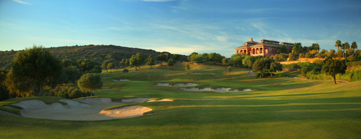 La Reserva Sotogrande Casa Club 18th hole  © Kevin Murray .