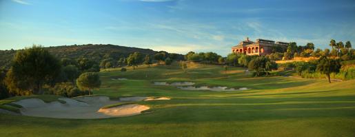 La Reserva Sotogrande Casa Club 18th hole  © Kevin Murray .