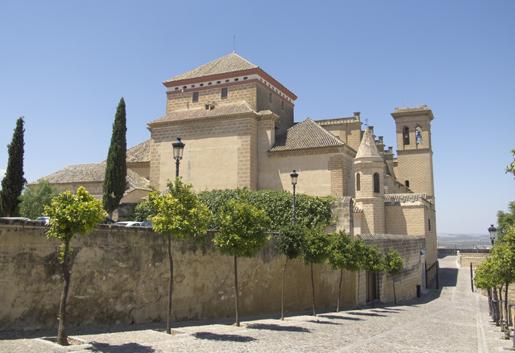La Colegiata de Santa Maria de la Asuncion on the hilltop. © Fiona Flores Watson