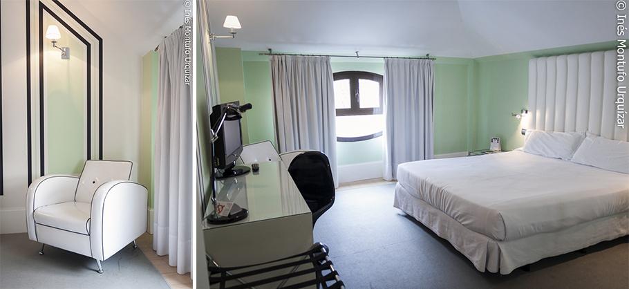 © Ines Montufo Urquizar Habitación tipo ejecutiva del Room Mate Lola.