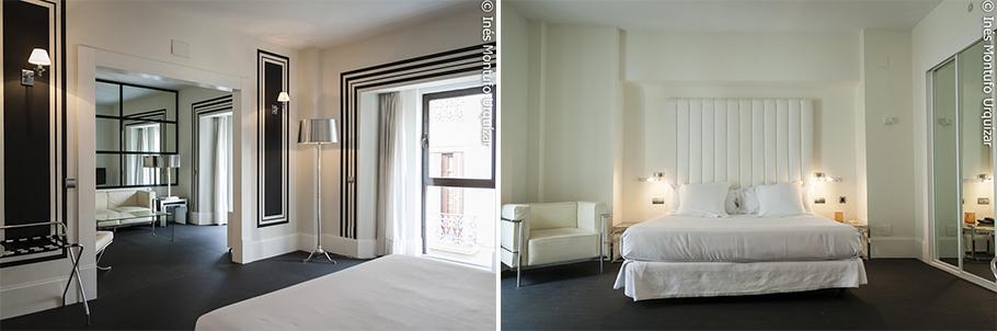 © Ines Montufo Urquizar Habitación tipo suite del Room Mate Lola.