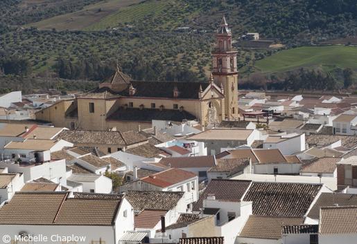 Algodonales is perched in the foothills of the Sierra de Líjar mountain range. © Michelle Chaplow