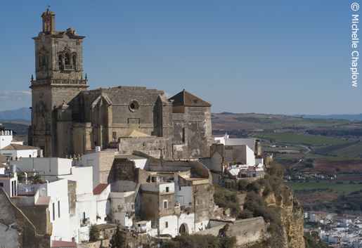 The Church of San Pedro, perched in a perilous cliffhanger of a position. © Michelle Chaplow