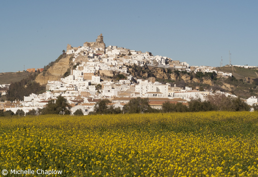In the heart of Cadiz, the white village of Arcos de la Frontera. © Michelle Chaplow