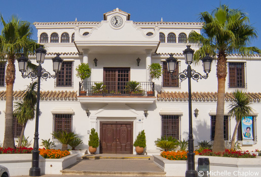 The Casa constitutional in Mijas Pueblo ©Michelle Chaplow