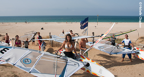 © Michelle Chaplow Tarifa, the windsurf capital of Europe