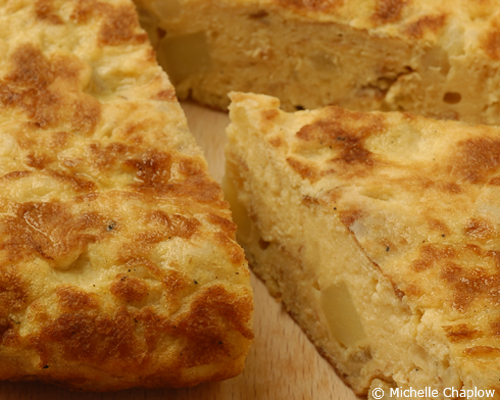 © Michelle Chaplow Spanish Tortilla - the perfect vegetarian tapa