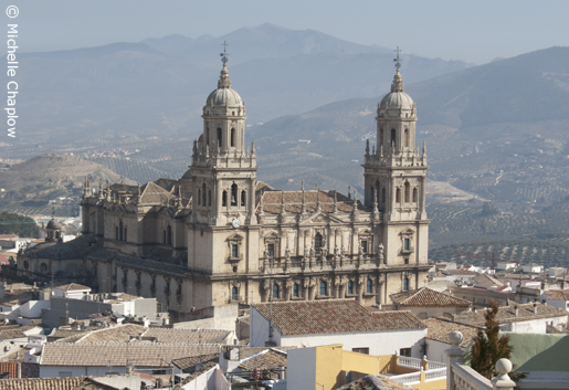 The city of Jaen is rich in history, with impressive monuments such as the Cathedral. © Michelle Chaplow