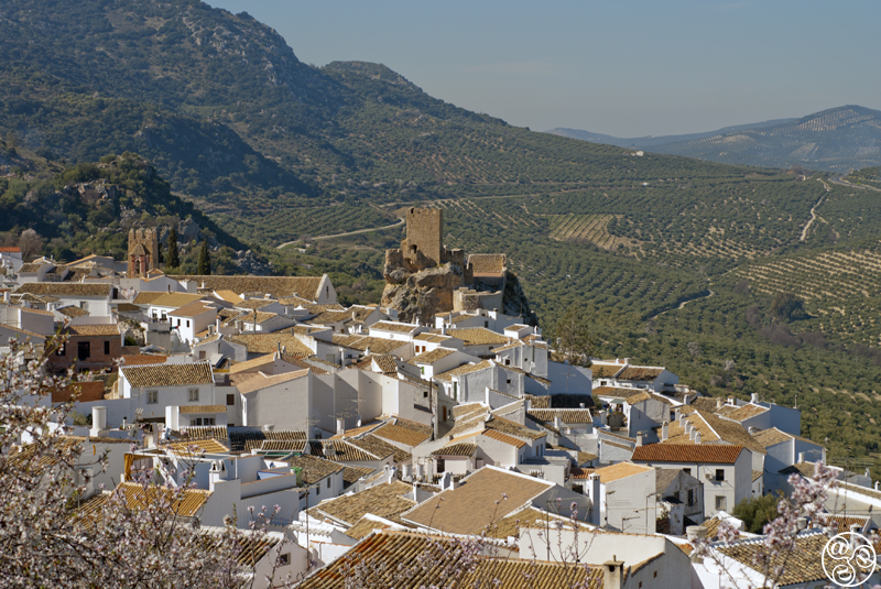Zuheros one of the most stunning villages in Andalucia is situated in the Sierra Subbetica ©Michelle Chaplow