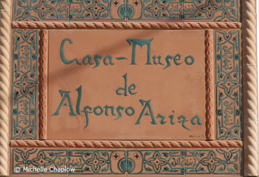 The home and Museum of Alfonso Ariza