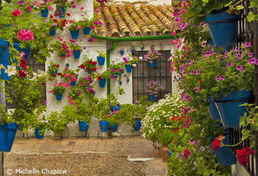 The traditional Andalucian Patio, put simply, Andalucia is a good place to live.