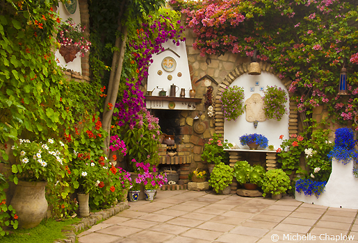 The patios of Cordoba are just breathtaking. © Michelle Chaplow