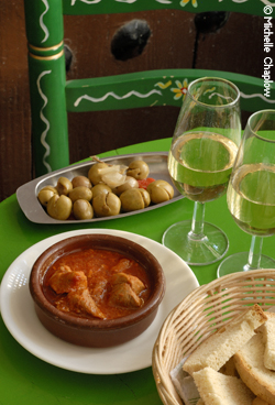 © Michelle Chaplow Sampling sherry is a great excuse to try out the tapas