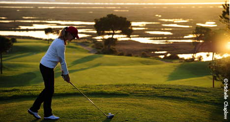 © Michelle Chaplow Combine exercise with the  natural beauty of the Andalucian golf courses.