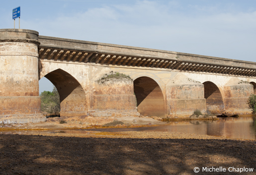 Roman bridge over the Rio Tinto in Huelva. © Michelle Chaplow
