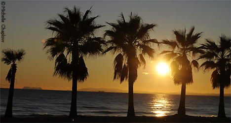 © Michelle Chaplow Sunset on Playa Pinillo