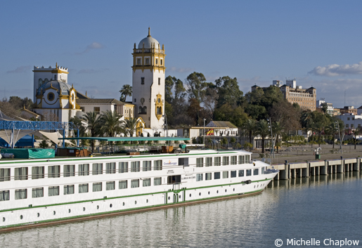 Take a cruise along the Guadalquivir. © Michelle Chaplow .