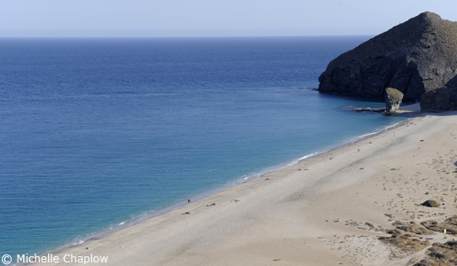 Carboneras is popular for its pristine beaches. © Michelle Chaplow