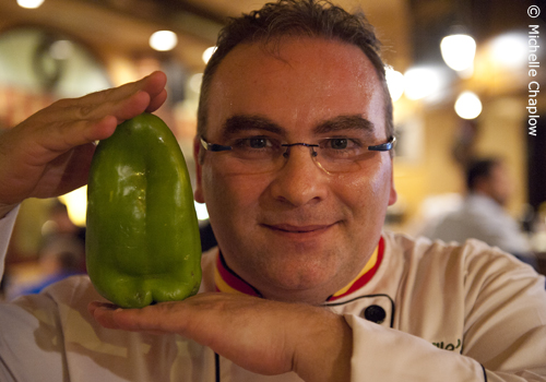 Spanish Chef Mariano Andres Puerta