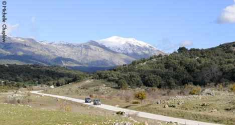 © Michelle Chaplow The easiest access to Sierra de las Nieves natural park is from the A376 Ronda to San Pedro road.
