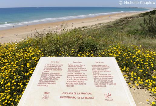 The beautiful beaches of Chiclana de la Frontera. © Michelle Chaplow
