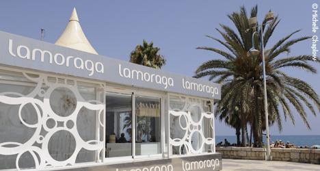 © Michelle Chaplow La Moraga, beachfront  gastro dining in Malaga.
