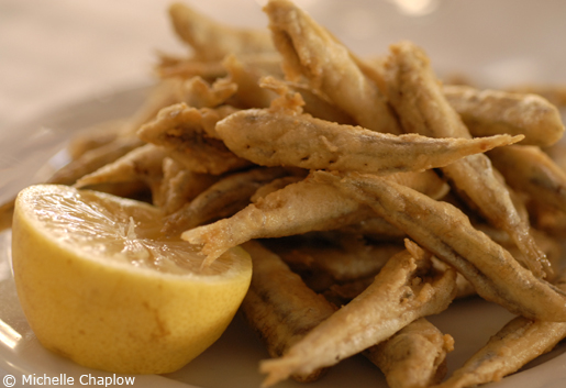 Pescaito frito is just one way to enjoy Andalucian seafood.  © Michelle Chaplow .