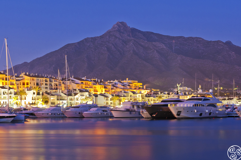 Puerto Banús is known as Costa del Sol